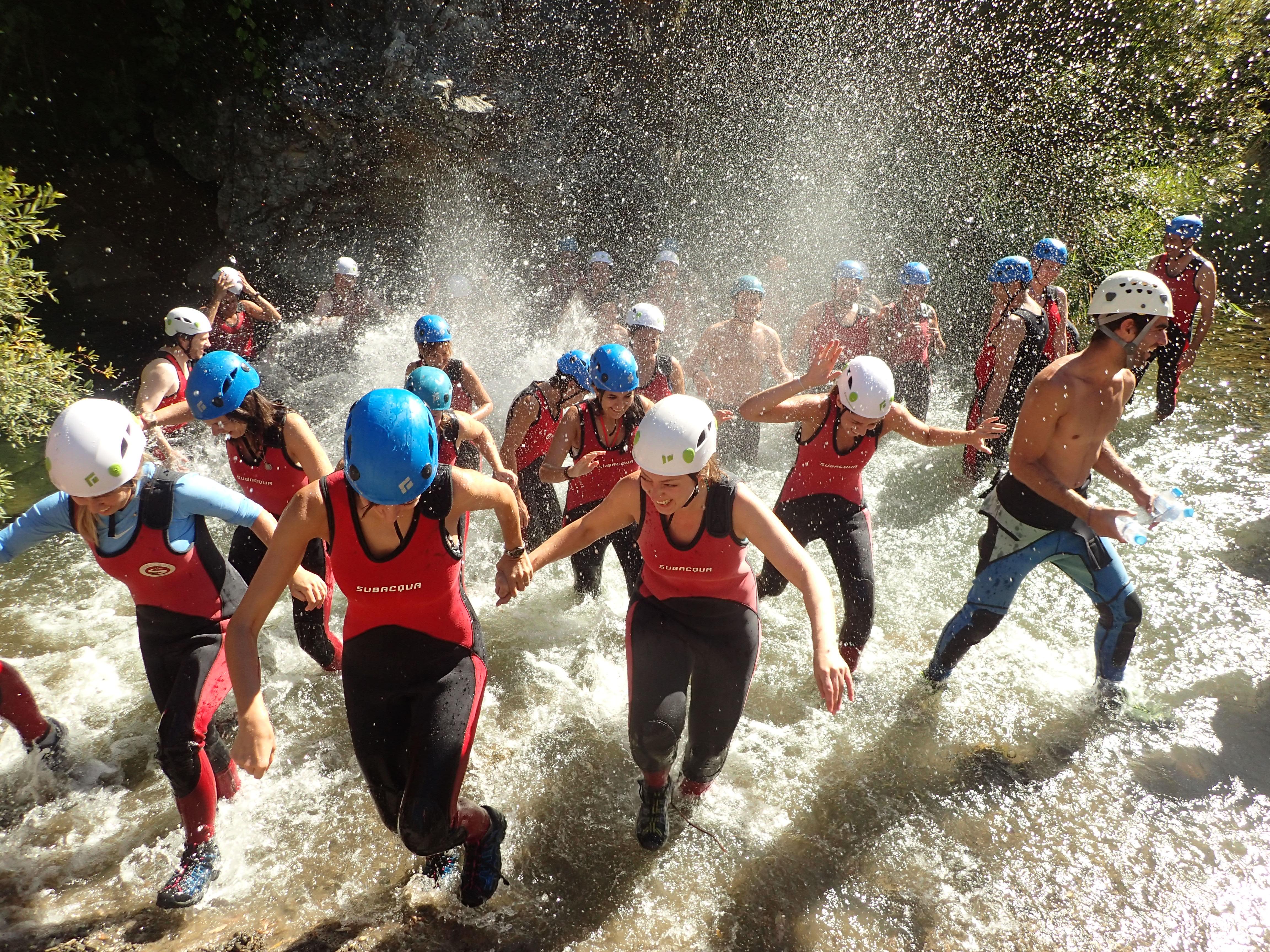 Meilleurs Canyon Team Building Malaga