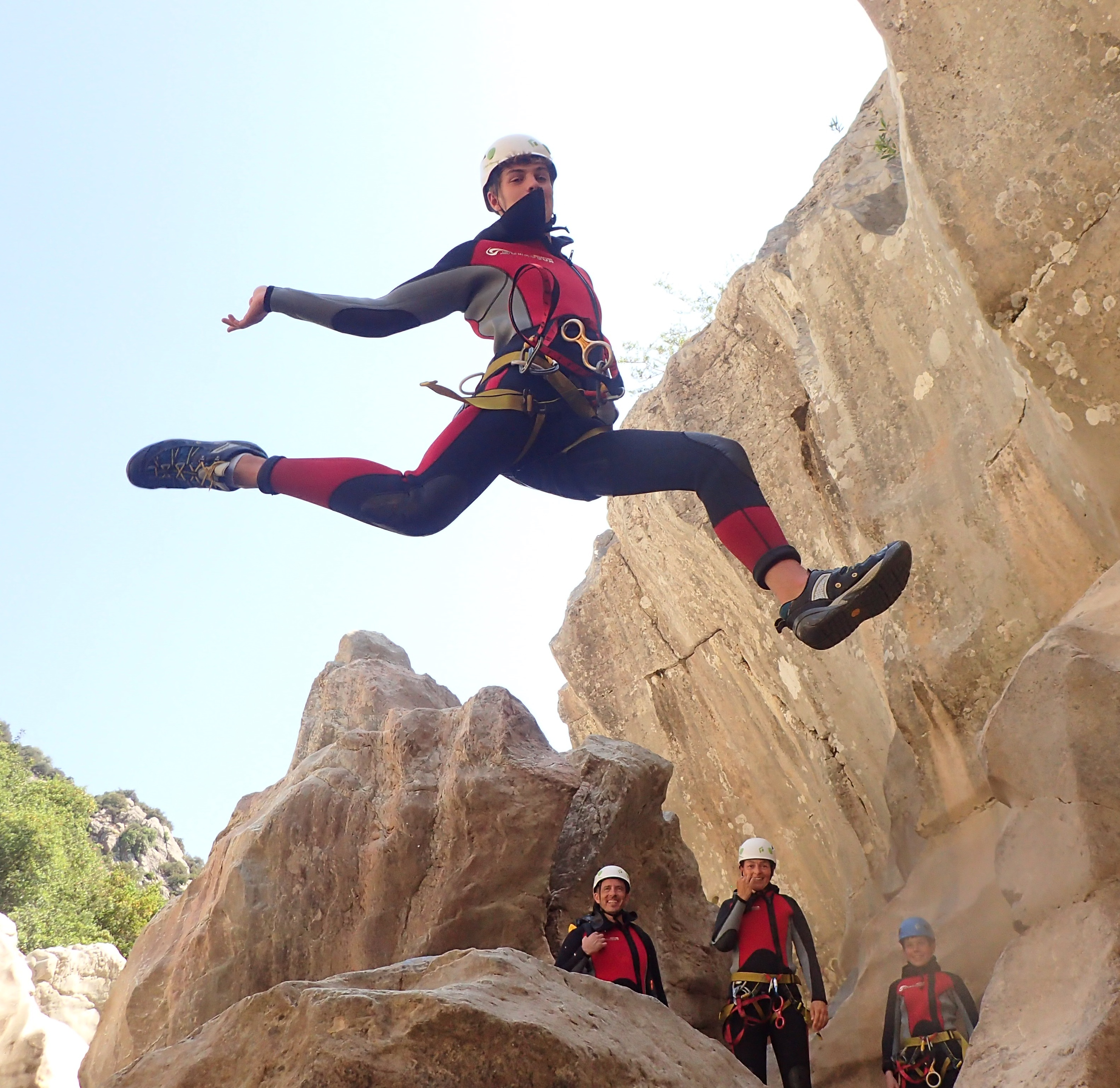 Canyoning à Malaga et Costa del Sol